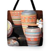 Santa Fe Pottery Tote Bag