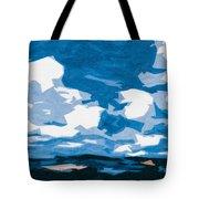 Santa Fe Skies Tote Bag