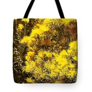Santa Fe Yellow Tote Bag