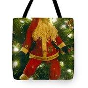 Santa Got Hung Up Tote Bag