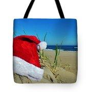 Santa Hat Dunes 1 12/17 Tote Bag