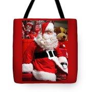 Santa Is Ready Tote Bag
