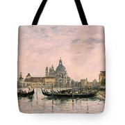 Santa Maria Della Salute And The Dogana Tote Bag