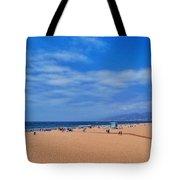 Santa Monica Beach California Tote Bag