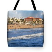 Santa Monica Beach View  Tote Bag