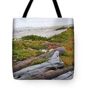 Santa Monica Mountains County Line Beach Tote Bag