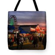 Santa Monica Pier I By Diana Sainz Tote Bag