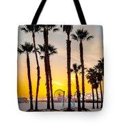 Santa Monica Palms Tote Bag