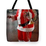 Santa New Orleans Style Tote Bag