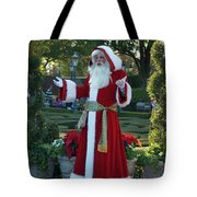 Santa Walt Disney World Tote Bag