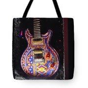 Santana Guitar Tote Bag