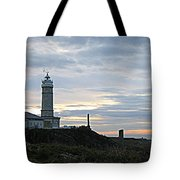 Santander Lighthouse - Spain Tote Bag