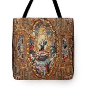 Santarem Cathedral Painted Ceiling Tote Bag