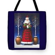 Santa's Cat Tote Bag