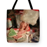 Santas Cookies Tote Bag