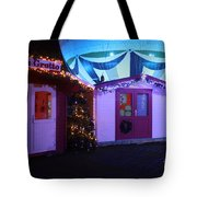 Santa's Grotto In The Winter Gardens Bournemouth Tote Bag