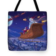 Santa's Helper Tote Bag by Michael Humphries