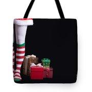 Santas Little Helper Tote Bag by Edward Fielding