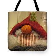 Santas Nose Tote Bag