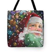 Santa's Toys Tote Bag