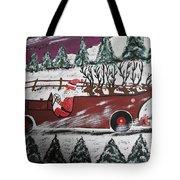 Santa's Truckload Tote Bag