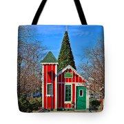 Santas Workshop Tote Bag