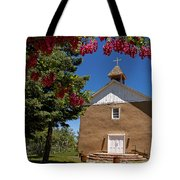 Santisima De Trinidad Mission Church Tote Bag