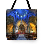 Santorini Cathedral  Tote Bag