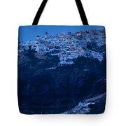Santorini Greece Tote Bag