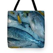 Santorini  Island Fresh  Dorados Tote Bag