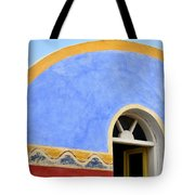 Santorini Window Tote Bag