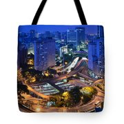 Sao Paulo Skyline - Downtown Tote Bag