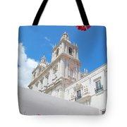 Sao Vicente De Fora Church In Lisbon Tote Bag