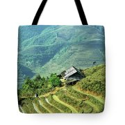 Sapa Rice Fields Tote Bag