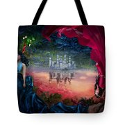 Sapphire Tote Bag