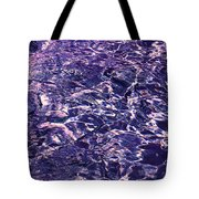Sapphire Flow. Feng Shui Tote Bag