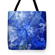 Sapphire In Blue Lace Tote Bag
