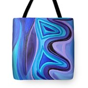 Sapphire Passion - Luminescent Light Tote Bag