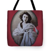 Sarah Bernhardt Photo By Nadar C.1860 Tote Bag