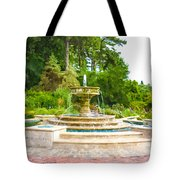 Sarah Lee Baker Perennial Garden 5 Tote Bag