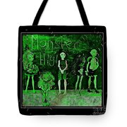 Sarah's Monster High Collection Frankenstein Effect Tote Bag