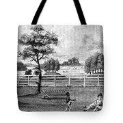 Saratoga, New York, 1794 Tote Bag