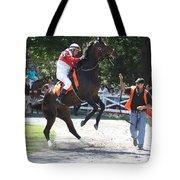 Saratoga Race Track Paddock Tote Bag