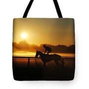 Saratoga Sunrise  Tote Bag