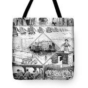 Sardine Fishery, 1880 Tote Bag