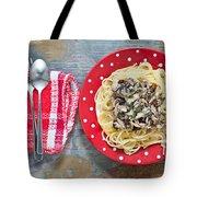 Sardines And Spaghetti Tote Bag