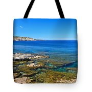 Sardinia - Shore In San Pietro Island Tote Bag