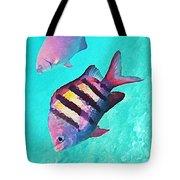 Sargeant Fish Tote Bag