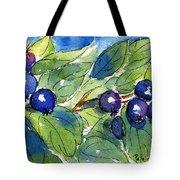 Saskatoon Berries Tote Bag