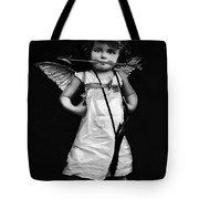 Sassy Cupid Bw Tote Bag